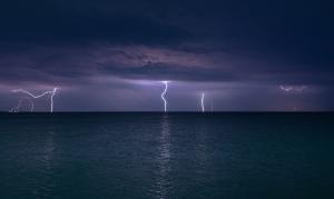Молния в Феодосии #15460