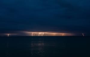 Молния в Феодосии #15453
