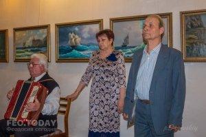 Открытие выставки «Морской пейзаж» в музее Грина #8071