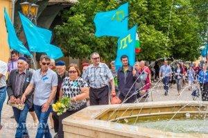В Феодосии почтили память жертв депортации крымских татар #10865
