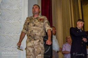 Собрание ко Дню пограничника в Феодосии #11527