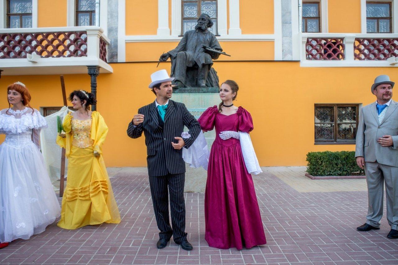 Фото прибытия Айвазовского в Феодосию #974