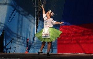 Фото празднования Дня флага России в Феодосии #2920