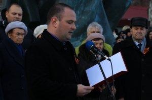 Фото митинга в память о Керченско-Феодосийском десанте #6482