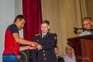 Собрание ко Дню пограничника в Феодосии #11532