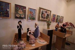 Выставка кукол. Музей Грина #7552