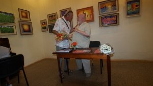 Фото открытия выставки МАЛЫШЕВА в музее ГРИНА #3409