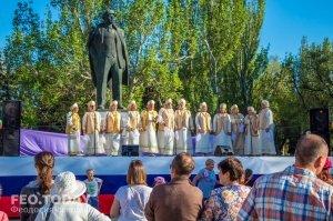 Первомайский концерт в Феодосии #9591