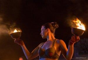 Фото фестиваля «Крым Fire-fest» в Коктебеле #2356