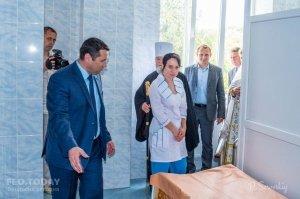 Открытие грязелечебницы в военном санатории #11483