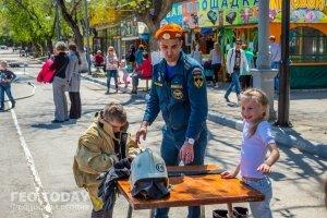 День пожарной охраны в Феодосии #8794