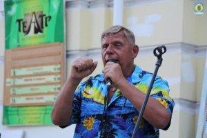 Фото выступления Александра Пяткова на Привокзальной площади Феодосии #3498