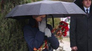Фото траурной церемонии захоронения останков 35 бойцов Крымского фронта