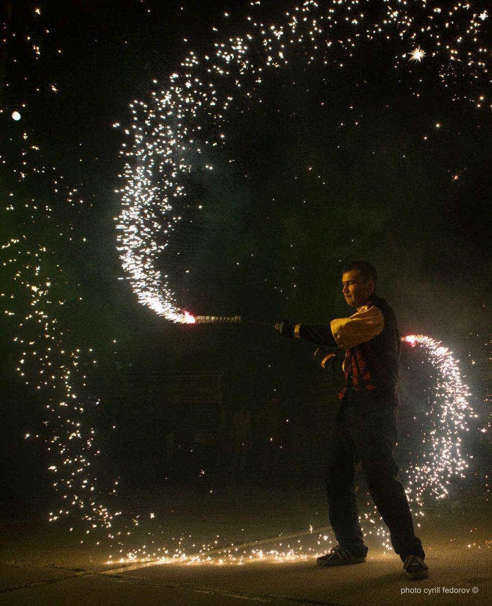 Фото фестиваля «Крым Fire-fest» в Коктебеле #2364