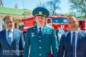 День пожарной охраны в Феодосии #8783