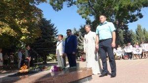 Фото митинга в Феодосии в память о жертвах терактов #3342