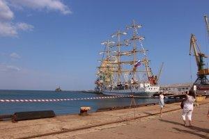 Фото парусного судна «Херсонес» в Феодосии #1181