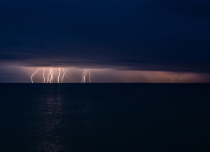 Молния в Феодосии #15454