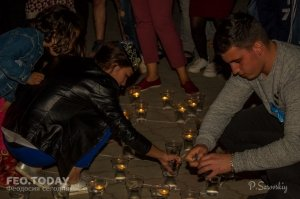 Акция «Зажги огонь в своем сердце» в Феодосии #10923