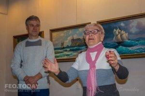 Открытие выставки «Морской пейзаж» в музее Грина #8060