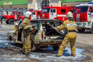 День пожарной охраны в Феодосии #8785