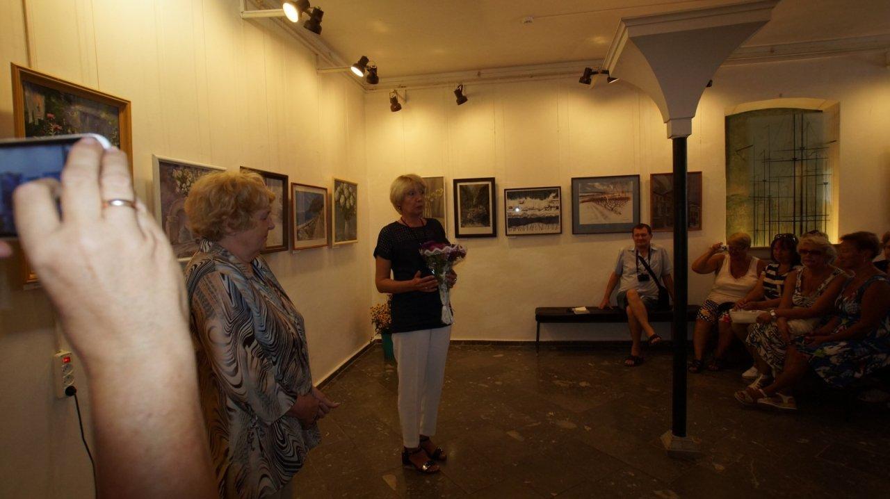 Фото открытия выставки Юшиной в музее ГРИНА #3387