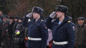 Фото траурной церемонии захоронения останков 35 бойцов Крымского фронта #6173