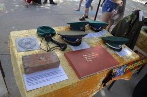 Фото праздника в честь зеленой фуражки в Феодосии #132