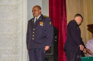 Собрание ко Дню пограничника в Феодосии #11535