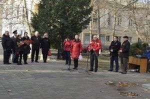 Фото митинга в честь Дня Героев Отечества в Феодосии #6230