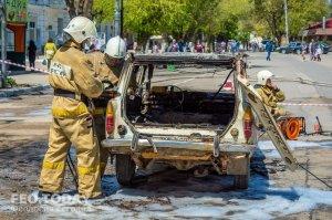 День пожарной охраны в Феодосии #8786