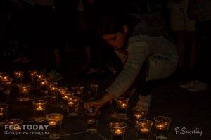 Акция «Зажги огонь в своем сердце» в Феодосии #10926