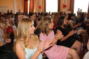 Фото вручения дипломов выпускникам ФФЭА #345