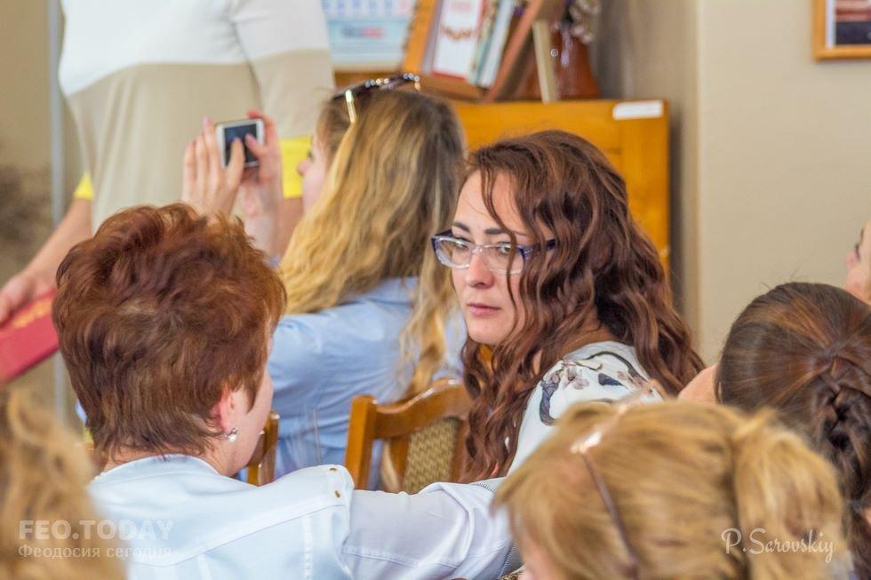 Собрание ко Дню библиотек в Феодосии #11449
