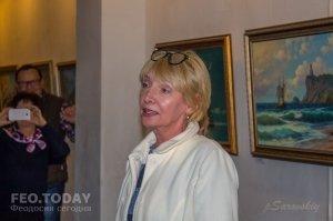 Открытие выставки «Морской пейзаж» в музее Грина #8077