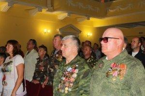 Фото празднования 30-летия Союза ветеранов Афганистана в Феодосии #2533