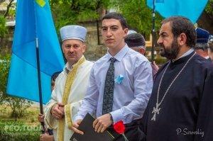 В Феодосии почтили память жертв депортации крымских татар #10868