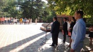 Фото митинга в Феодосии в память о жертвах терактов #3345