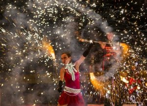 Фото фестиваля «Крым Fire-fest» в Коктебеле #2355
