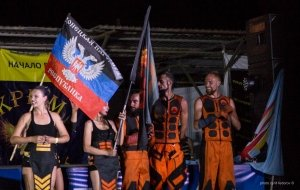 Фото фестиваля «Крым Fire-fest» в Коктебеле #2377