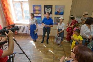 Фото выставки «Ангелы, к которым можно прикоснуться» в Феодосии #3869