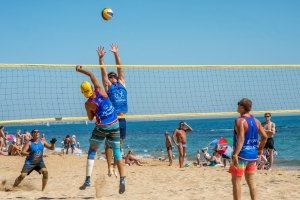 Фото турнира по пляжному волейболу в Феодосии #3597