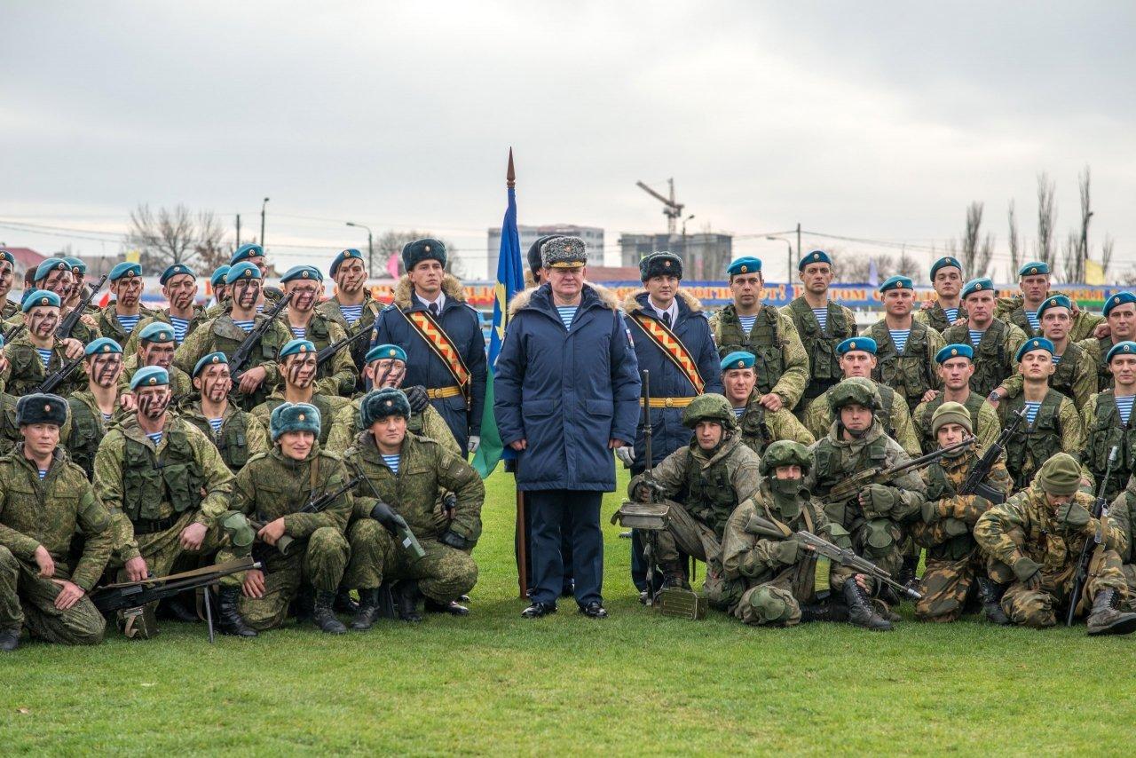 Фото открытия 171 отдельного десантно-штурмового батальона в Феодосии #6148