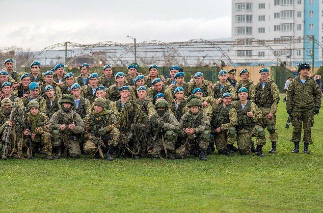 Фото открытия 171 отдельного десантно-штурмового батальона в Феодосии #6147