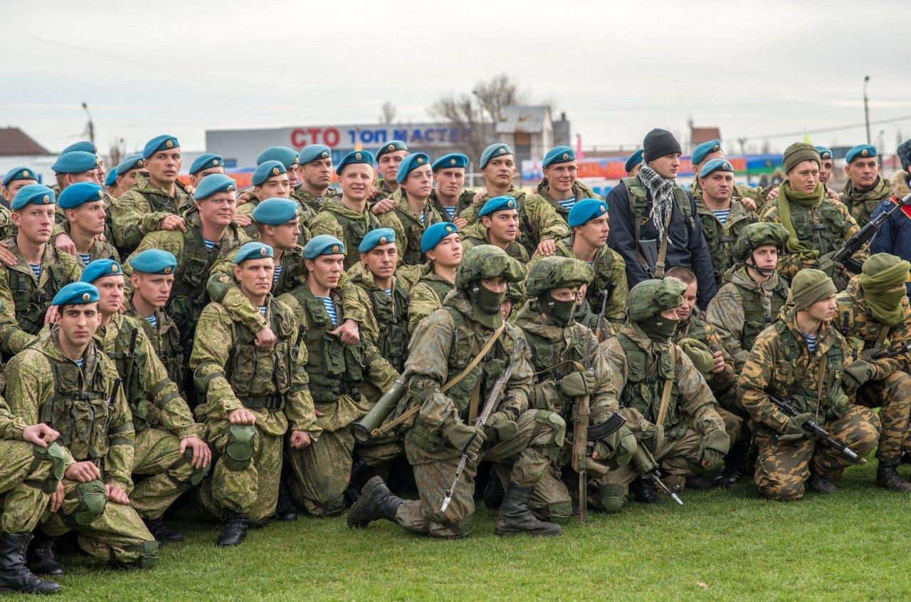 Фото открытия 171 отдельного десантно-штурмового батальона в Феодосии #6146
