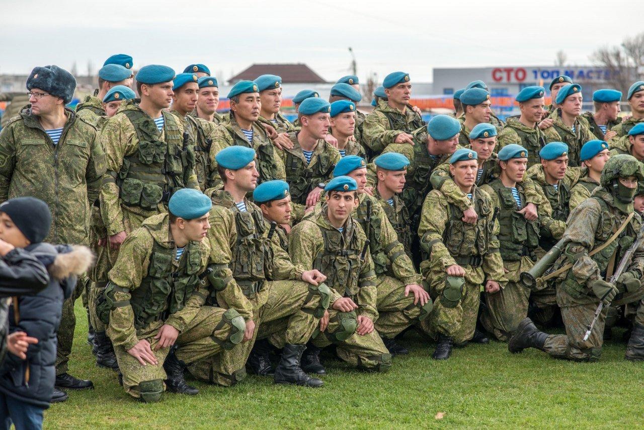 Фото открытия 171 отдельного десантно-штурмового батальона в Феодосии #6144
