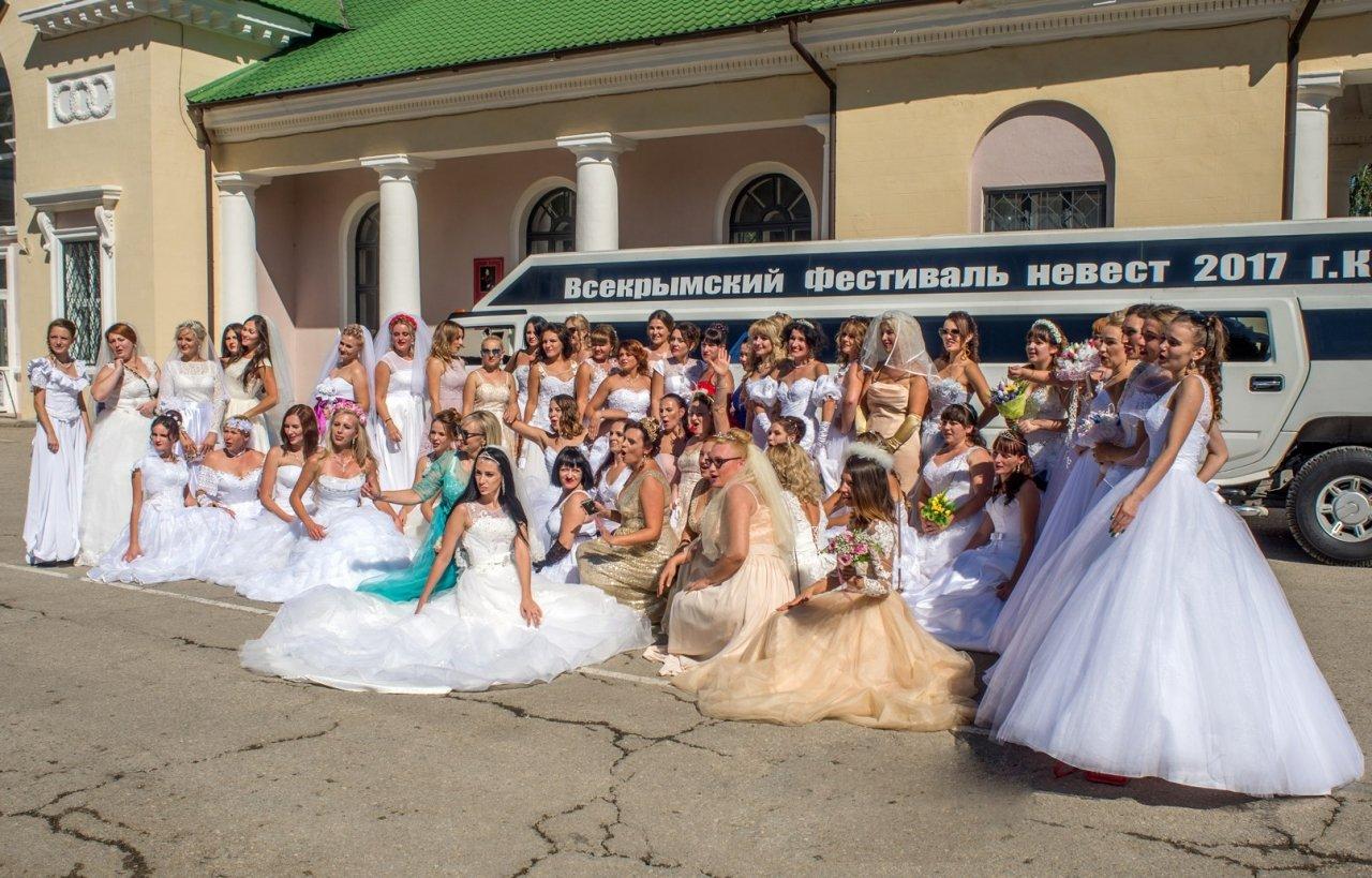 Фото фестиваля невест 2017 в Феодосии #4441