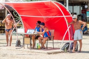 Фото турнира по пляжному волейболу в Феодосии #3593