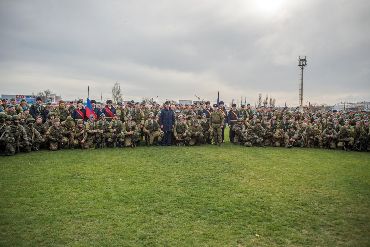 Фото открытия 171 отдельного десантно-штурмового батальона в Феодосии #6143