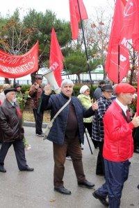 Фото митинга и демонстрации в честь 100-летия Великого Октября в Феодосии #5662